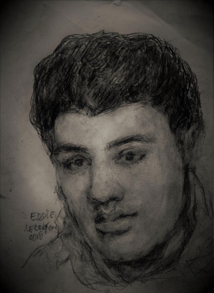 Elvis Presley by EddieLeCrayon